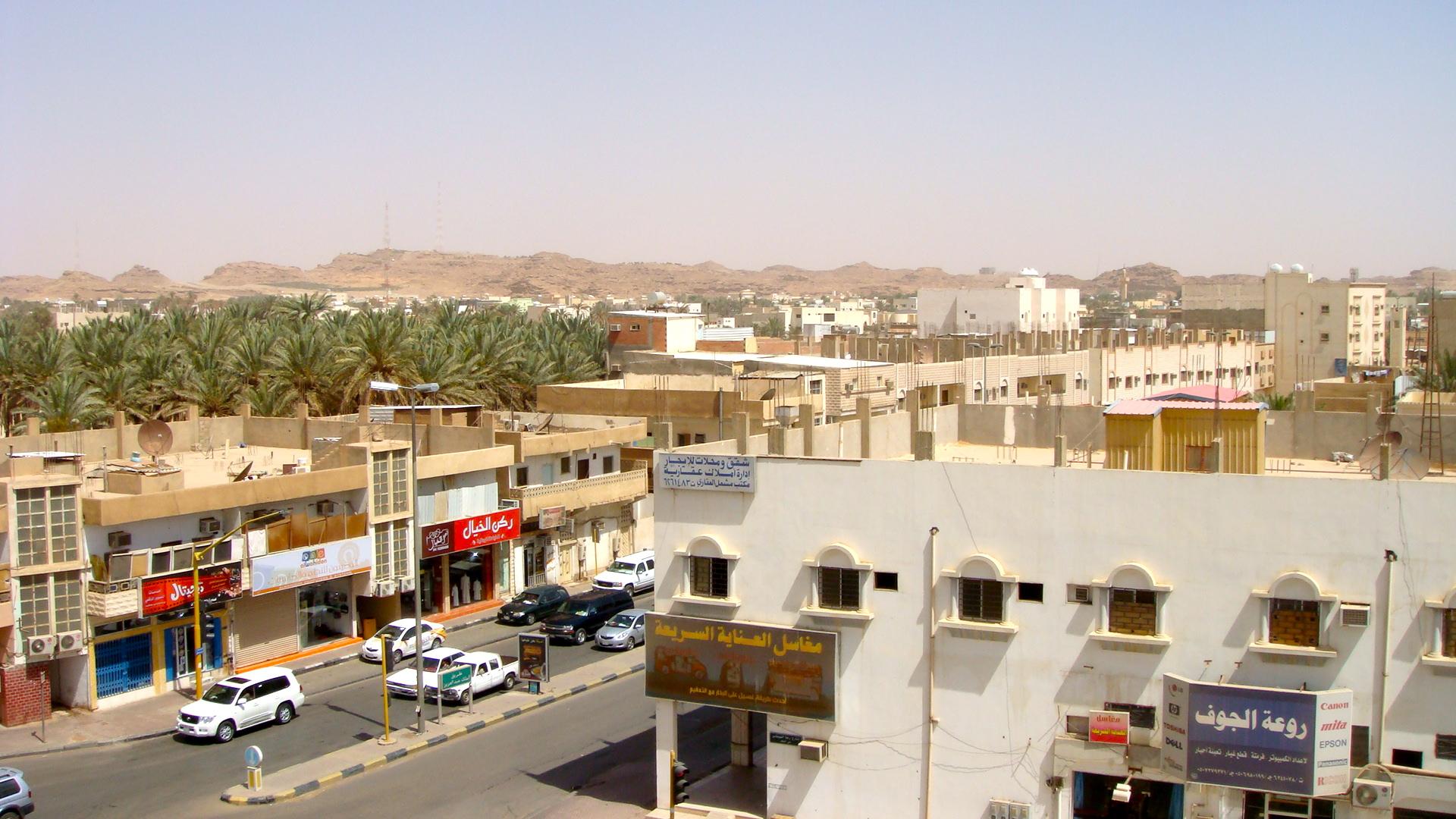 Downtown Sakaka 08 Nigel Of Arabia