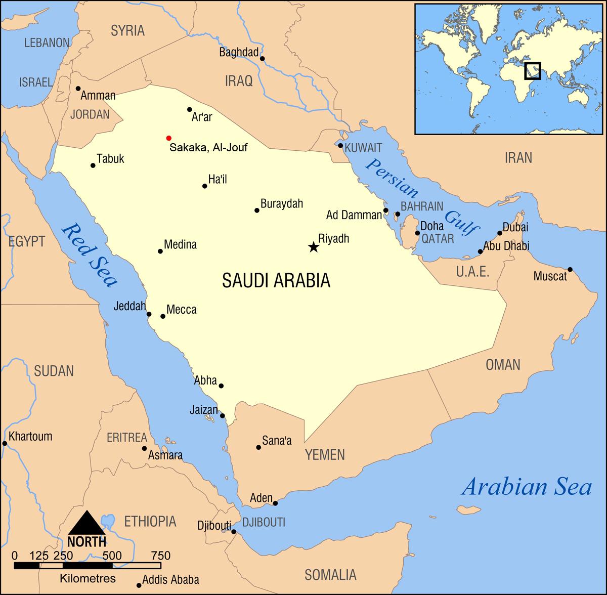Where in the world am I? | Nigel of Arabia